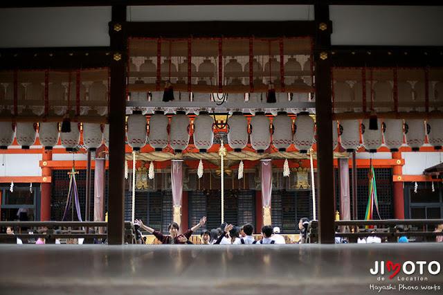 結婚記念に京都旅行のロケーション撮影
