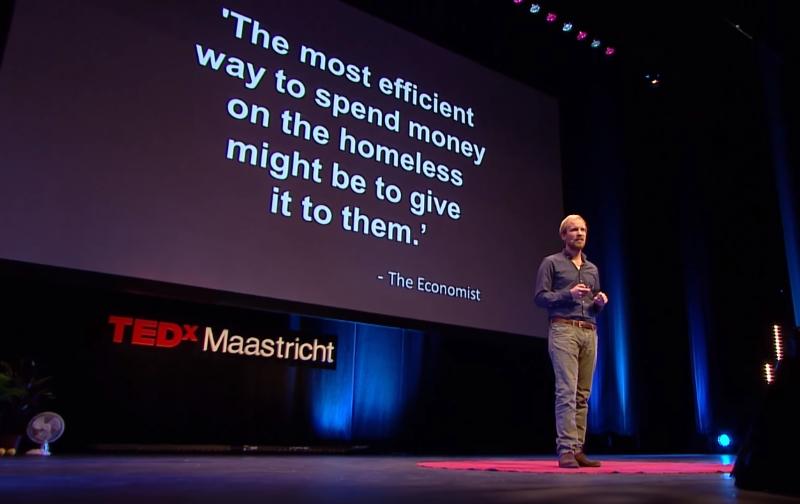 Rutger Bregman no TEDx