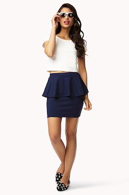 Peplum Skirt terbuka