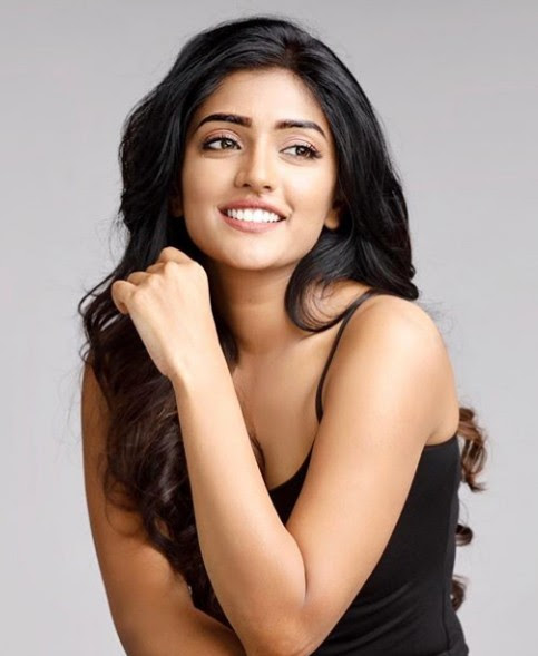 Eesha Rebba charming Black Dress