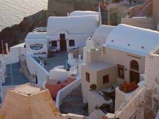 Summer Lovers Movie Hotel Oia Santorini Greece