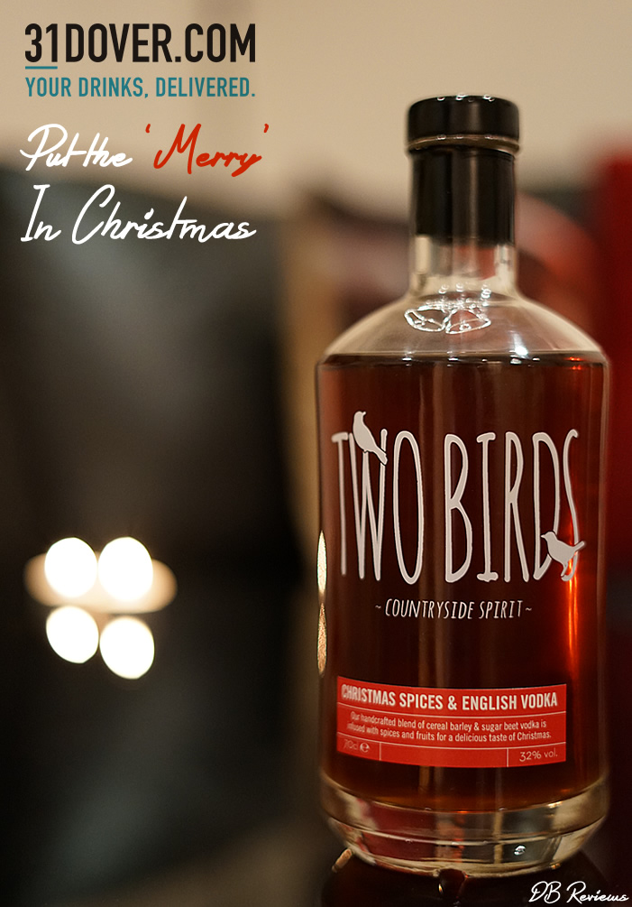 Two Birds Christmas Spiced Vodka from 31 Dover