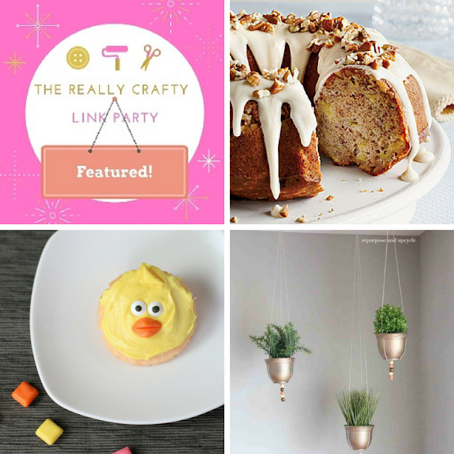The Really Crafty Link Party #111 featured posts