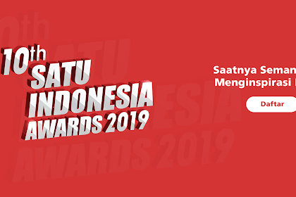 10th SATU Indonesia Awards 2019