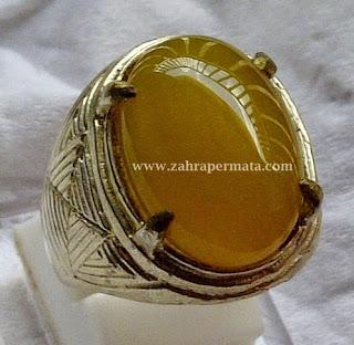 Batu Permata Yellow Chalcedony - ZP 242