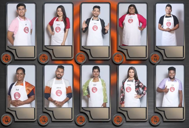 List masterchef contestants Trying to