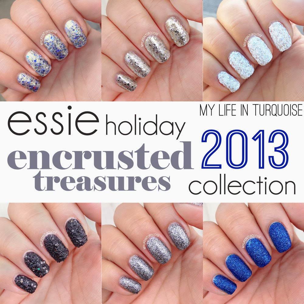 essie encrusted treasures