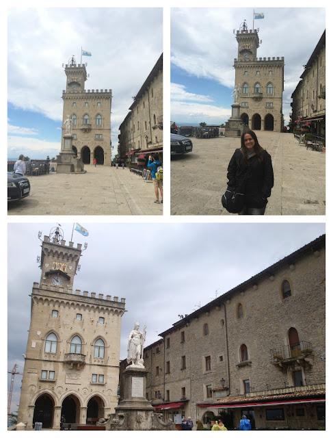 Piazza della Liberta e Palazzo Publico, San Marino