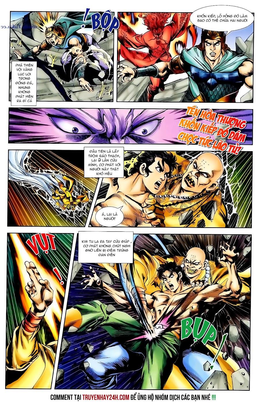 Cơ Phát Khai Chu Bản chapter 99 trang 12