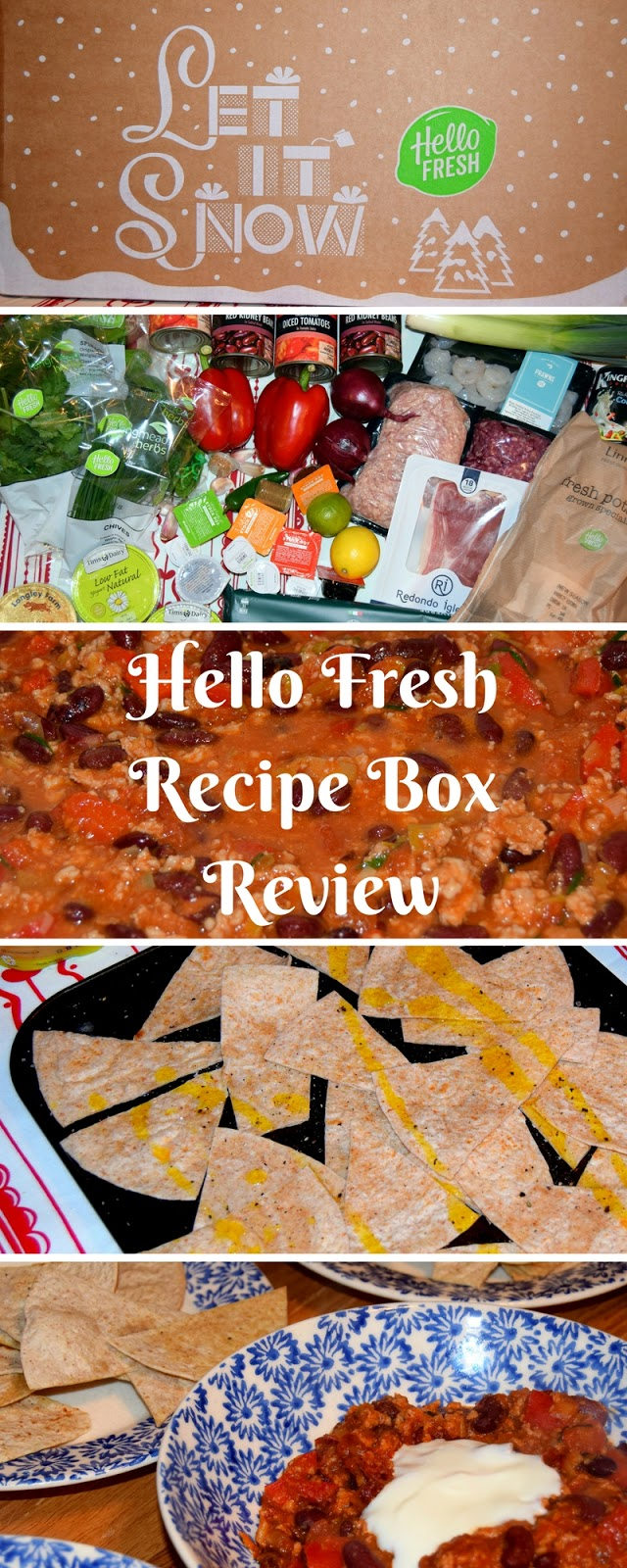 HelloFresh Recipe Box Review