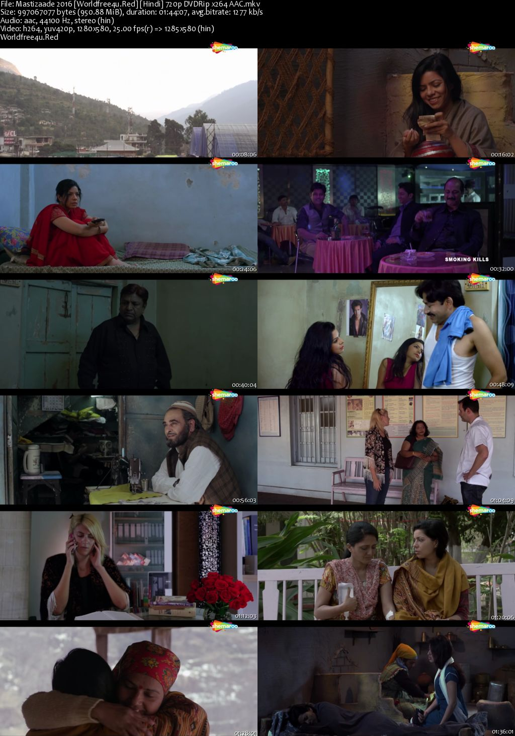 Mastizaade 2016 Hindi DVDRip 720p