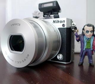 Kamera Mirrorless Nikon 1 J5 di Malang