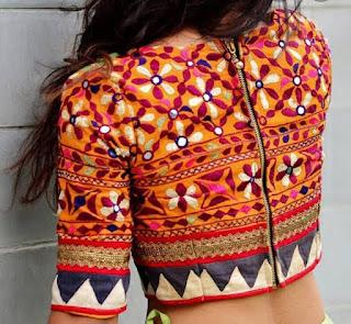 kathiyavadhi blouse