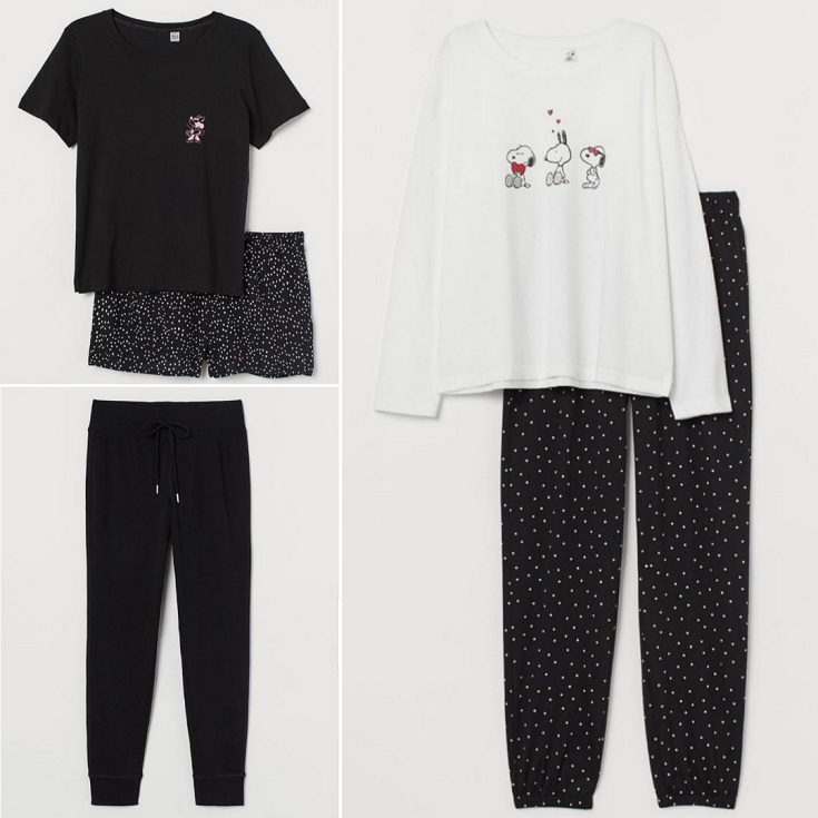 bblogger, bbloggersca, bbloggerca, bbloggers, style blog, lifestyle blogger, southern blogger, hm, h&m, hm canada, haul, spring, loungewear, social distancing, staying home, pajamas, comfy, cozy, minnie mouse, disney, snoopy, peanuts, billie eilish, harry potter, hogwarts, sweatshirt
