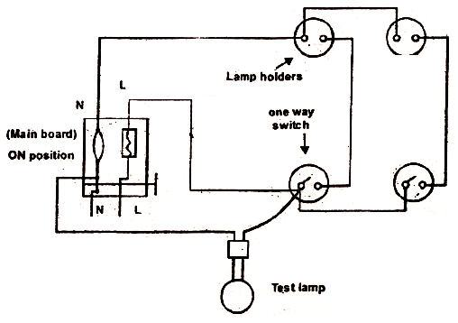 wire light switch in series