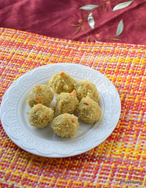 Roasted Poha Laddu
