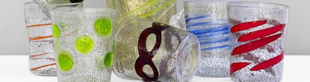bicchieri-in-vetro-di-murano-colorato-moderno