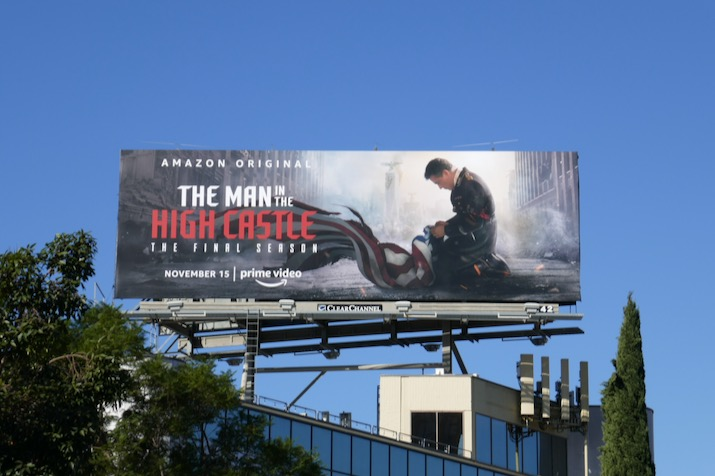Man High Castle final season 4 billboard