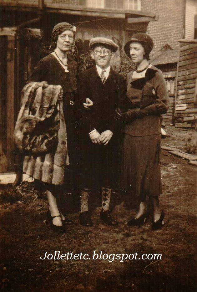 Lillie Killeen and 2 unknowns 1932, probably New York  http://jollettetc.blogspot.com