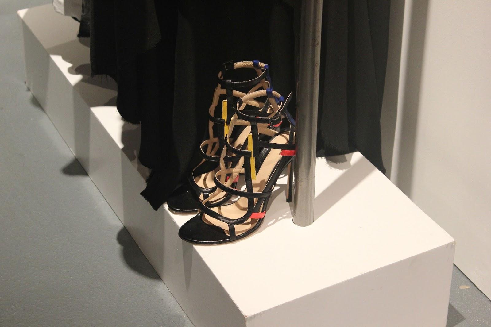 Georgie Minter-Brown, actress, blogger, london fashion week, designer showrooms, designer, clothes, fashion, jean-pierre braganza