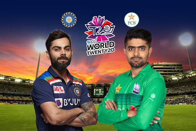 India vs Pakistan Live Score ICC T20 World cup 2021