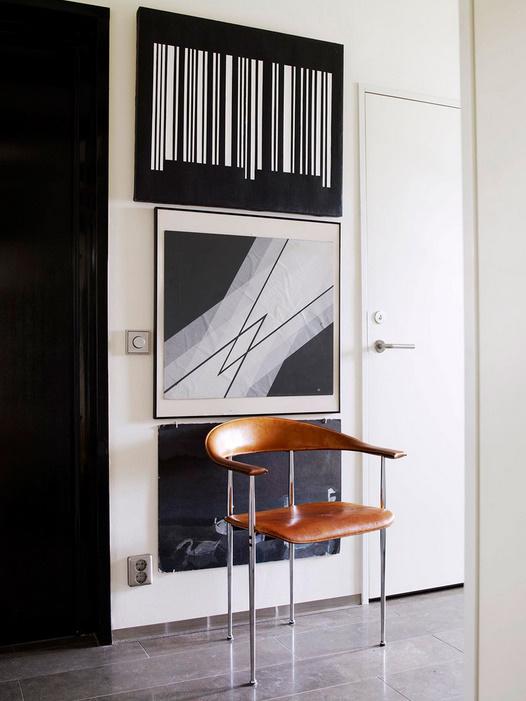 art contemporain du sol au plafond anna g. Black Bedroom Furniture Sets. Home Design Ideas