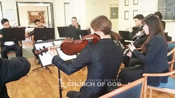 Elohim Orchestra – Mother's Love Spread Through Orchestra Performance at Millward, VIC.