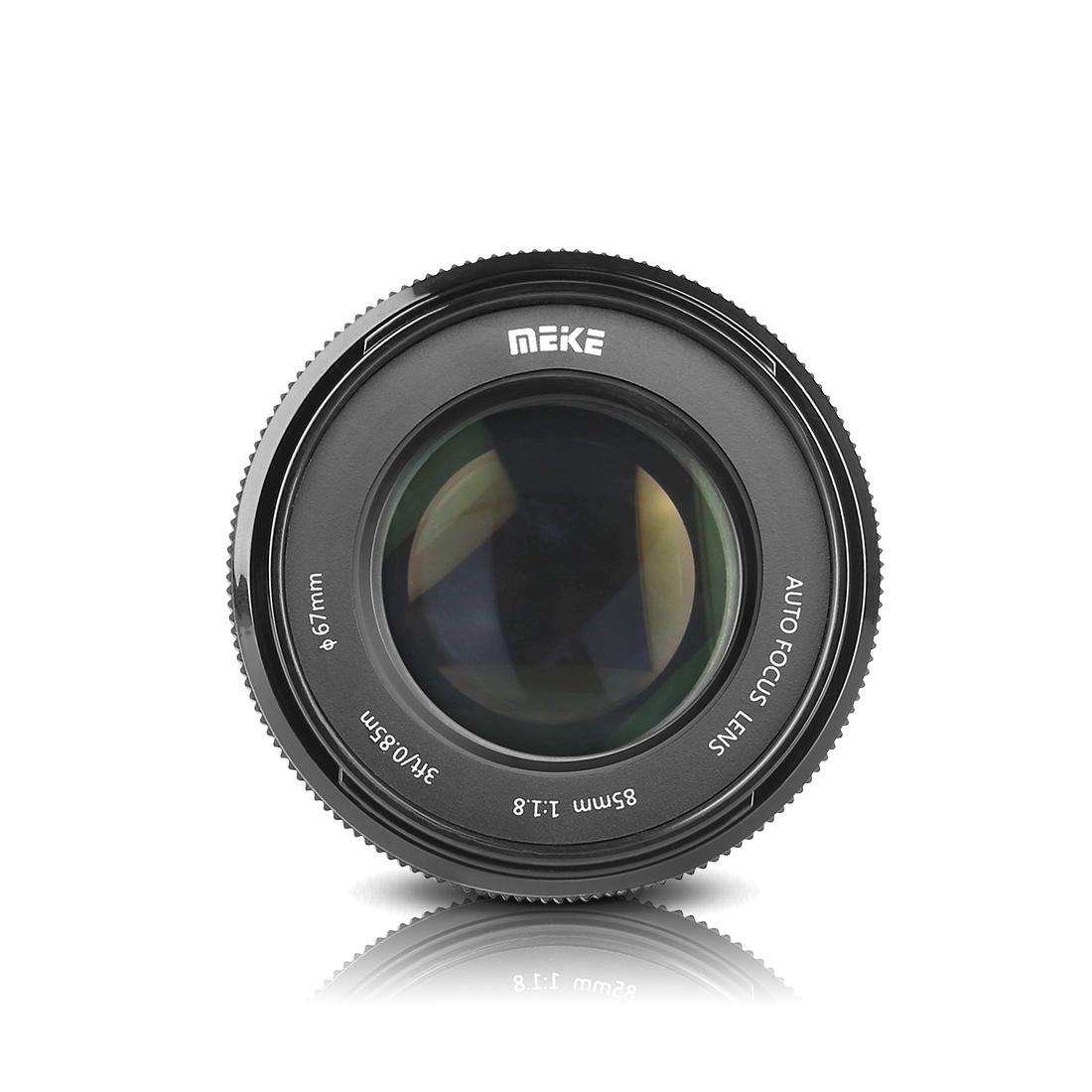 Объектив Meike MK 85mm f/1.8 AF, вид спереди