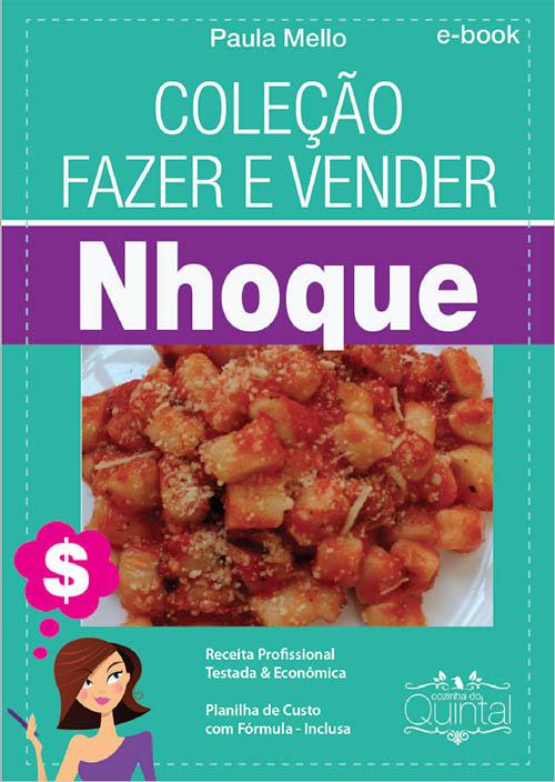 Ebook Nhoque Profissional Cozinha do Quintal