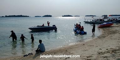 aktivitas wisata pulau perak