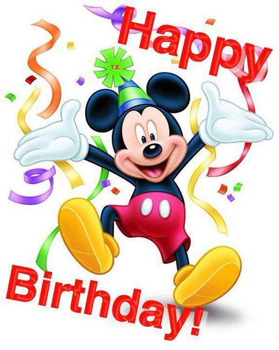 Mickey Mouse's Birthday Wishes Photos