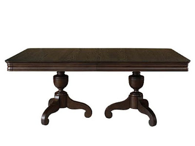 Double Pedestal Dining Table Overview