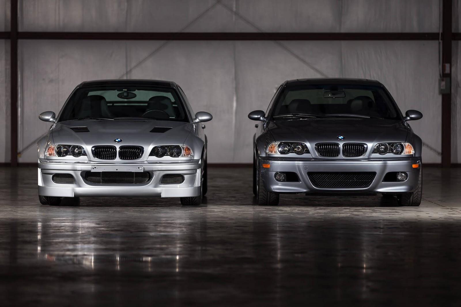 BMW E46 M3 GTR dan BMW E46 M3