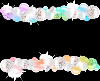 Graphisch dargestellte Luftballonketten