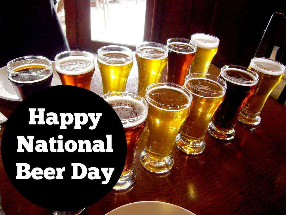 National Beer Day Wishes Beautiful Image