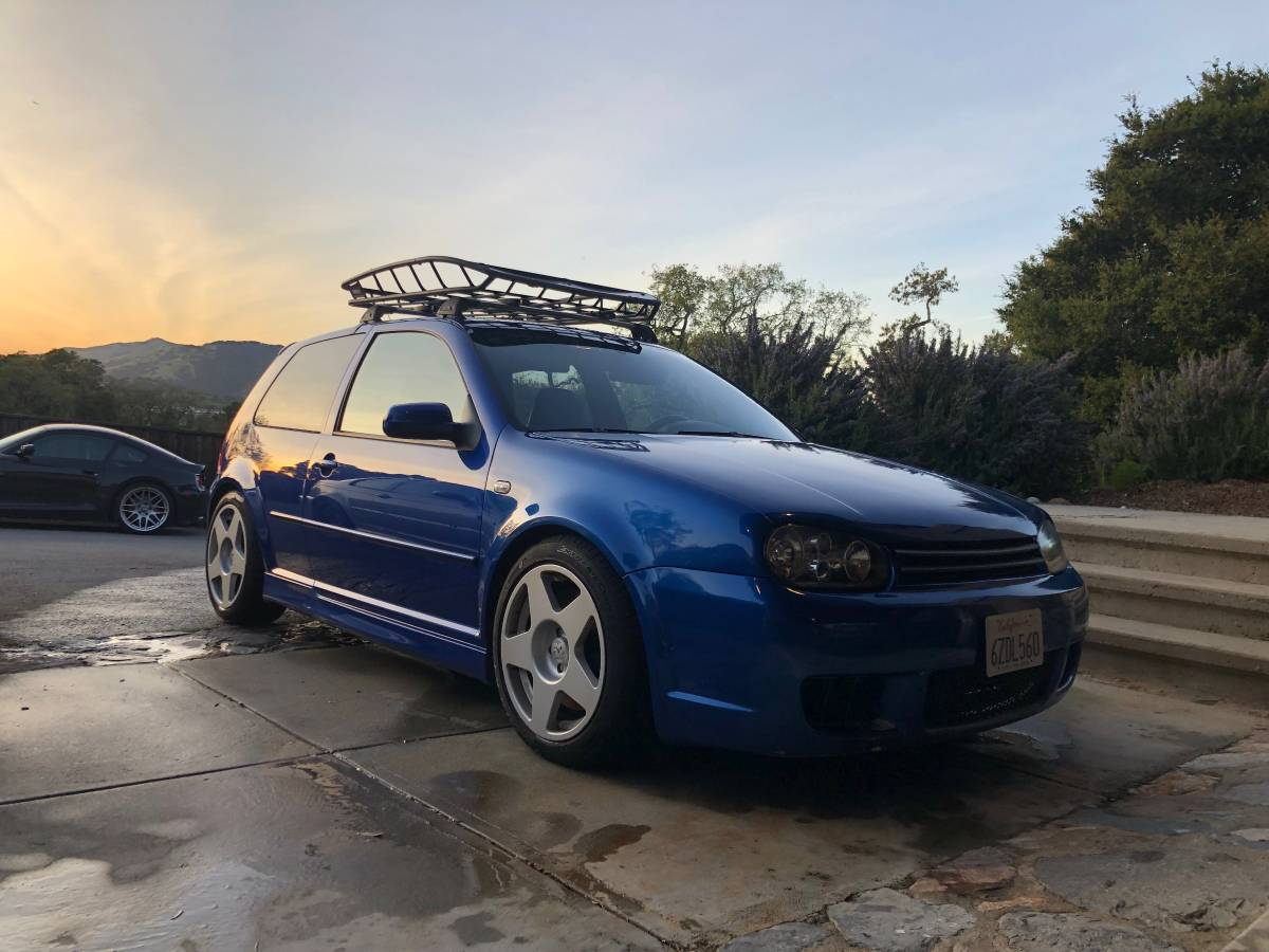 Daily Turismo: Rare and Cool: 2004 Volkswagen R32
