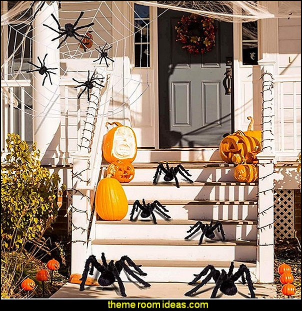 halloween decorating spider decorations pumpkin decorations halloween home decor halloween party props