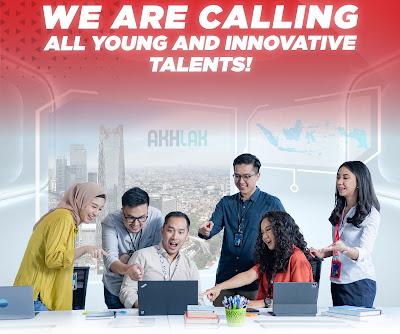 Telkom Indonesia menyambut talenta muda kreatif untuk berkarya dan berinovasi tanpa henti dengan orang-orang terbaik. Mari bergabung bersama hadapi era digital! Persyaratan:  Warga Negara Indonesia;  Telah menyelesaikan masa studi dengan melampirkan Ijazah atau Surat Keterangan Lulus (SKL);