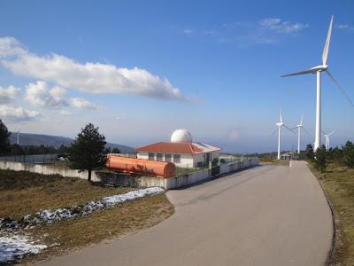 Observatório no Parque Eólico de Vila Nova