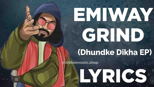 Emiway - Grind Lyrics in Hindi