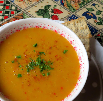 Spiced Parsnip & Carrot Soup