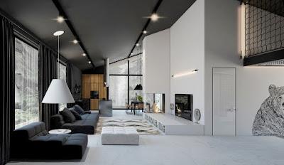 Ruang Tamu Minimalis Modern
