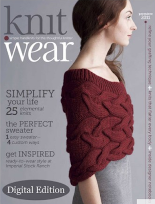 Knit.Wear 2011 cover, blogged by Dayana Knits