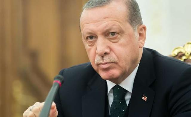 Ερντογάν: Συνοδεία φρεγατών το γεωτρύπανο Γιαβούζ