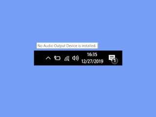 Cara Mengatasi No Audio Output Device Is Installed Windows 10, 8 & 7