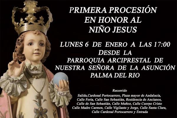 Así será la I Salida del Niño Jesús en Palma del Río