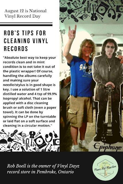 August 12 is National Vinyl Record Day: Q & A with a record store owner