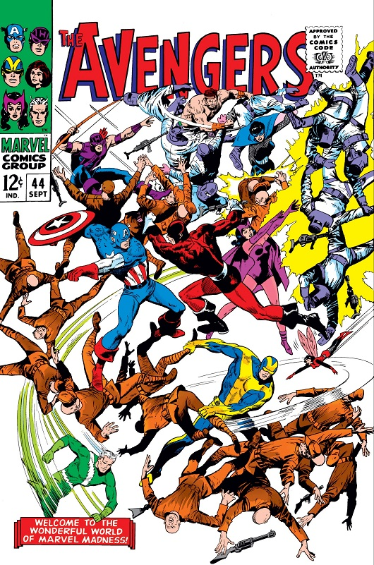 Cover of Avengers Vol 1 #44