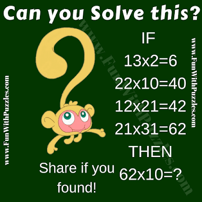 It is Mathematical IQ Question in which your challenge is solve given Maths Logic Problems to find value of missing number