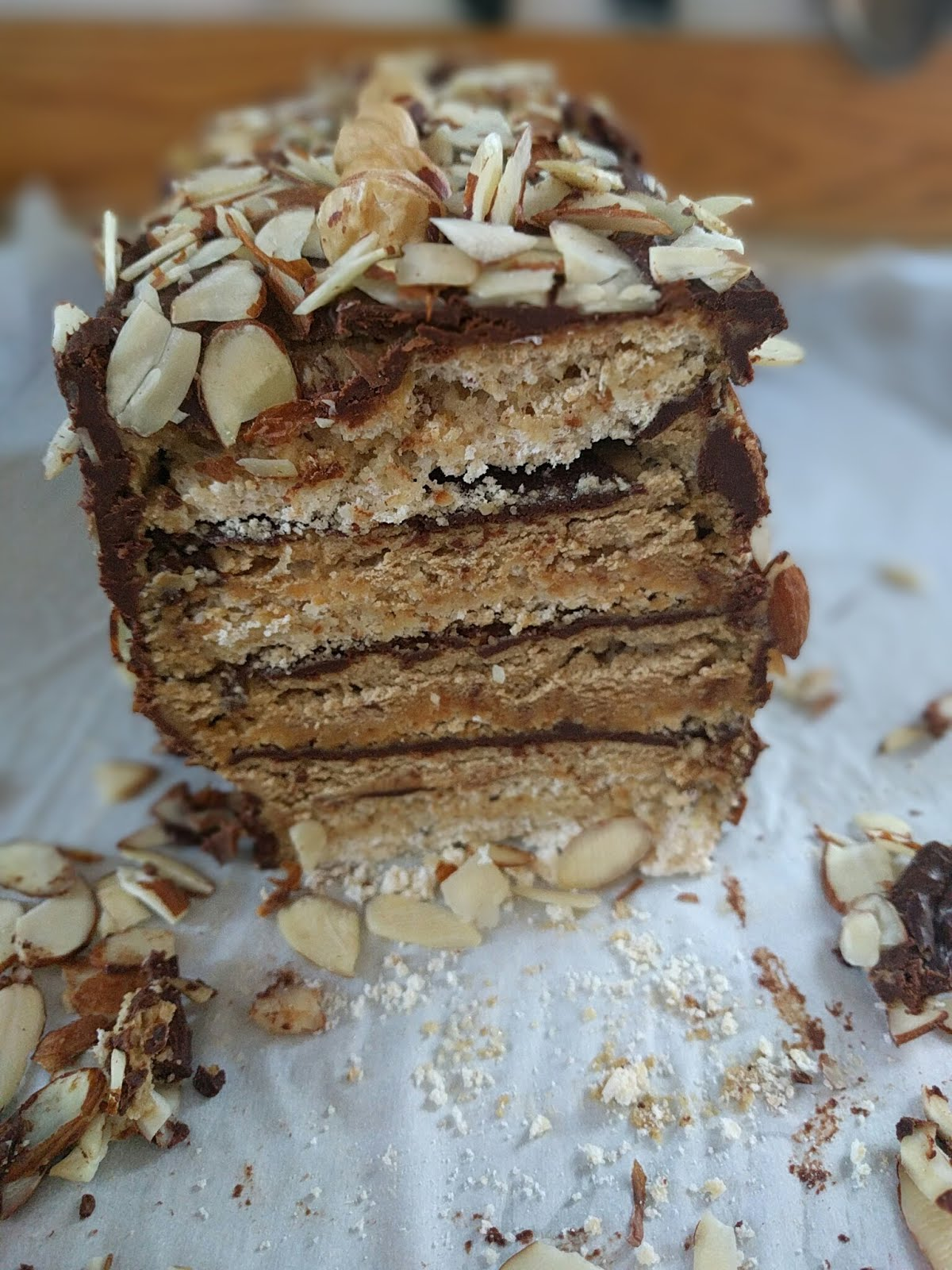 Chocolate Dacquoise Cake Part